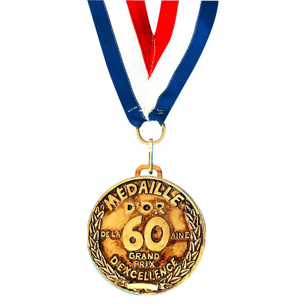 Médaille d\'or \'60 aine\' - 7 cm - [A2533]