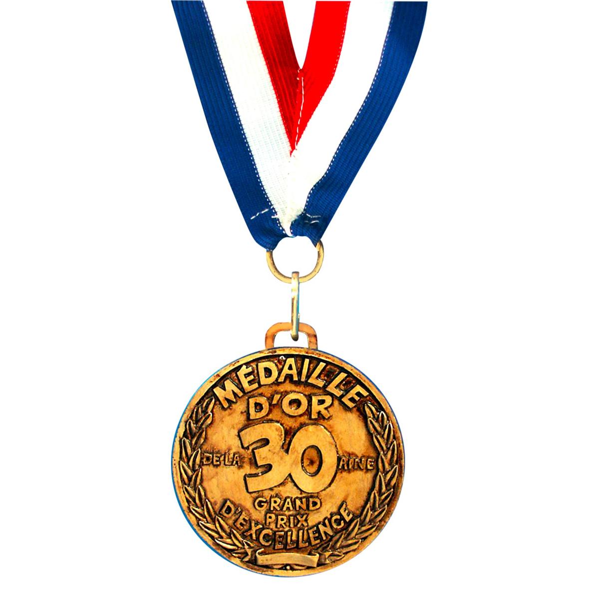 Médaille d\'or \'30 aine\' - 7 cm - [I5755]