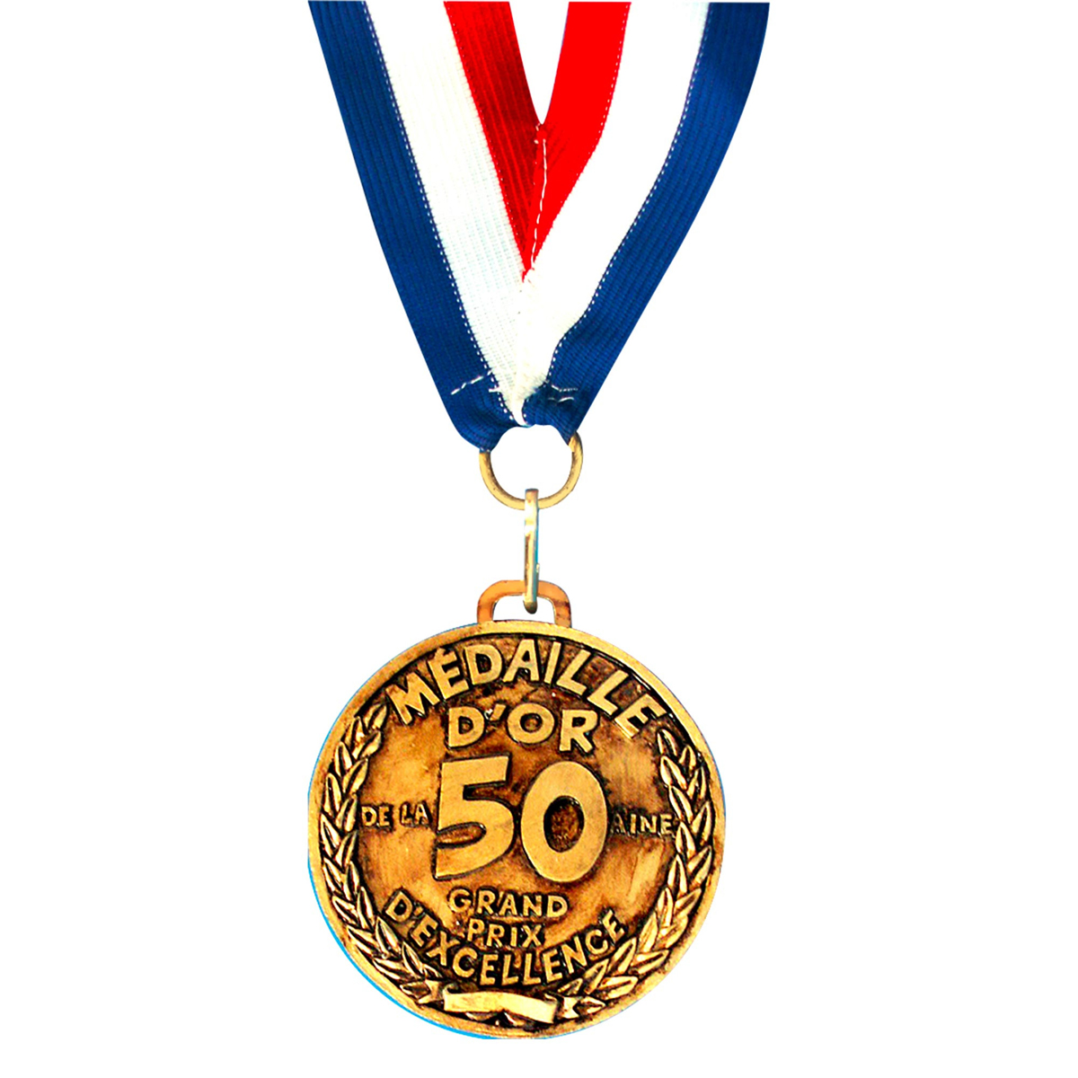 Médaille d\'or \'50 aine\' - 7 cm - [I8130]