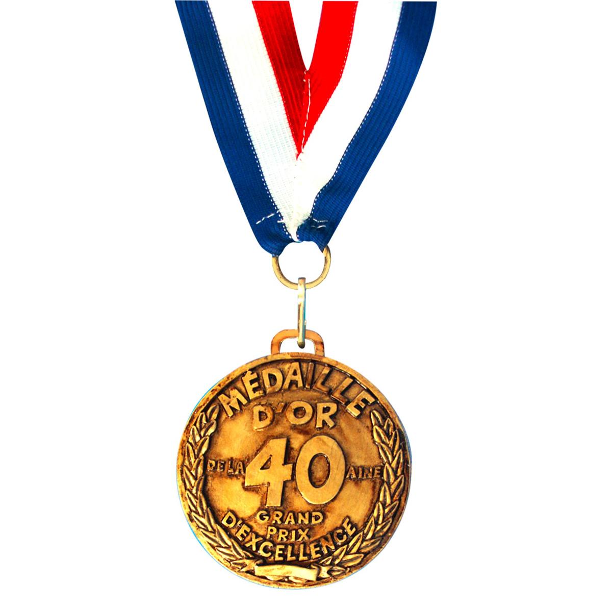 Médaille d\'or \'40 aine\' - 7 cm - [I8131]