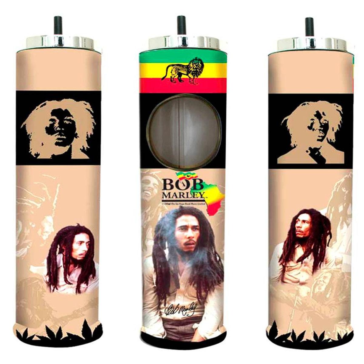 Cendrier géant \'Bob Marley\' taupe - 64x14 cm - [A2627]