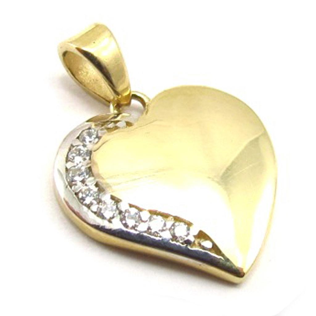 Pendentif \'Love\' (Or - 9 carats) - [K4547]