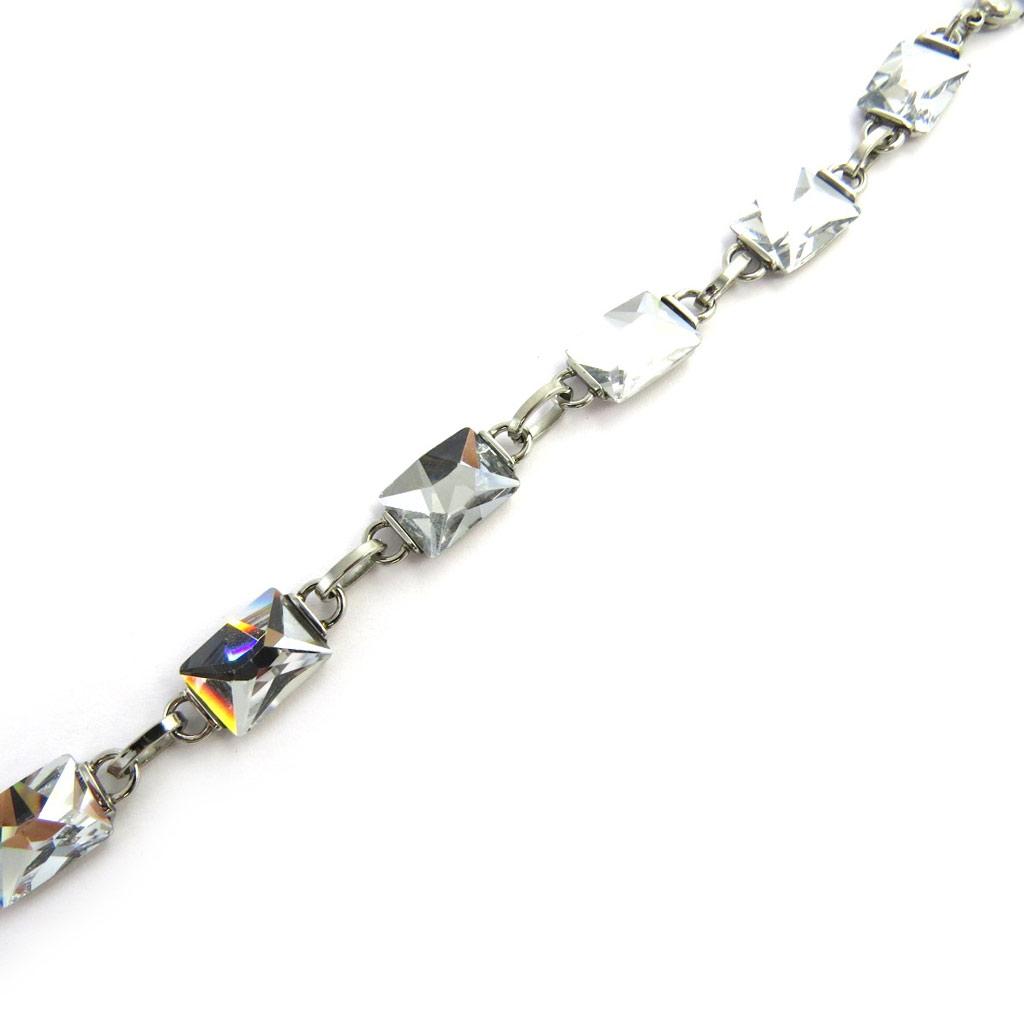 Bracelet acier \'Calypso\' blanc - [M7191]