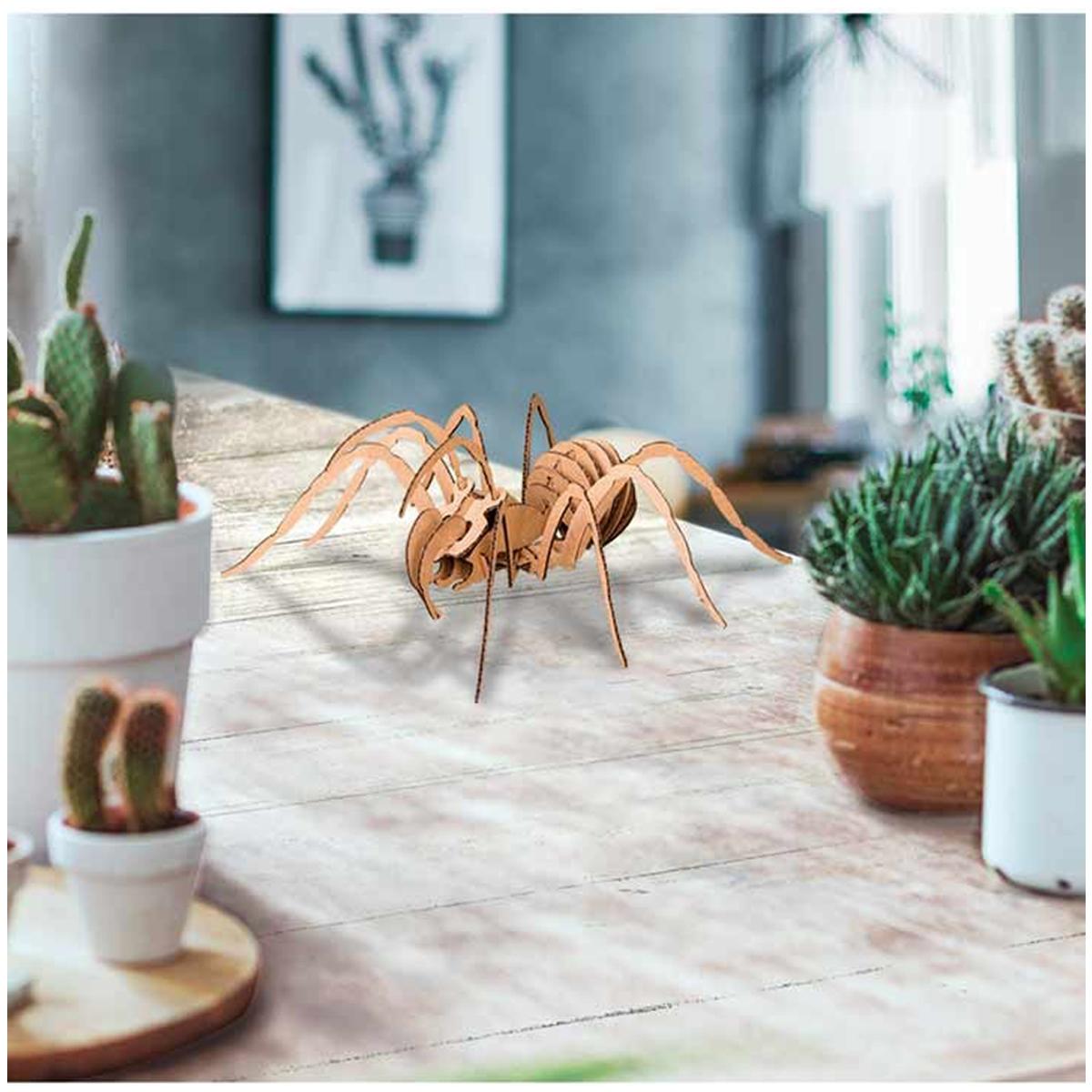 Figurine carton 3D \'Araignée\' - planches 165x175 cm - [Q9220]