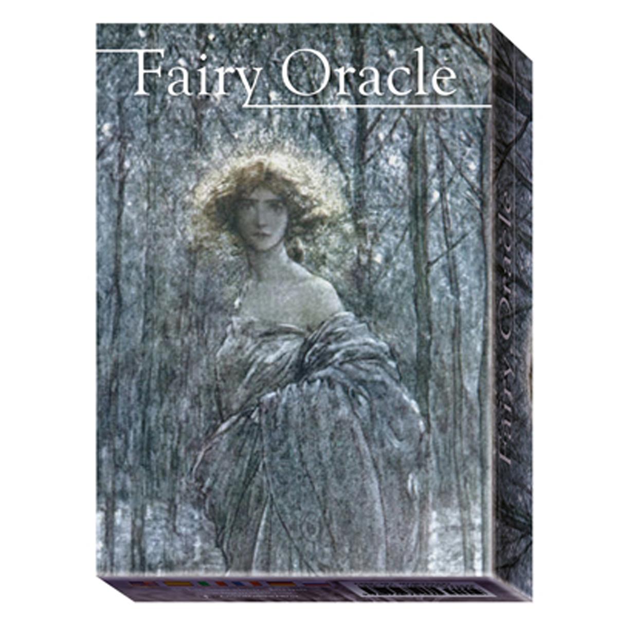Jeu de cartes d\'inspiration \'Fairy Oracle\' (oracles) - 135x10x3 cm - [A1013]