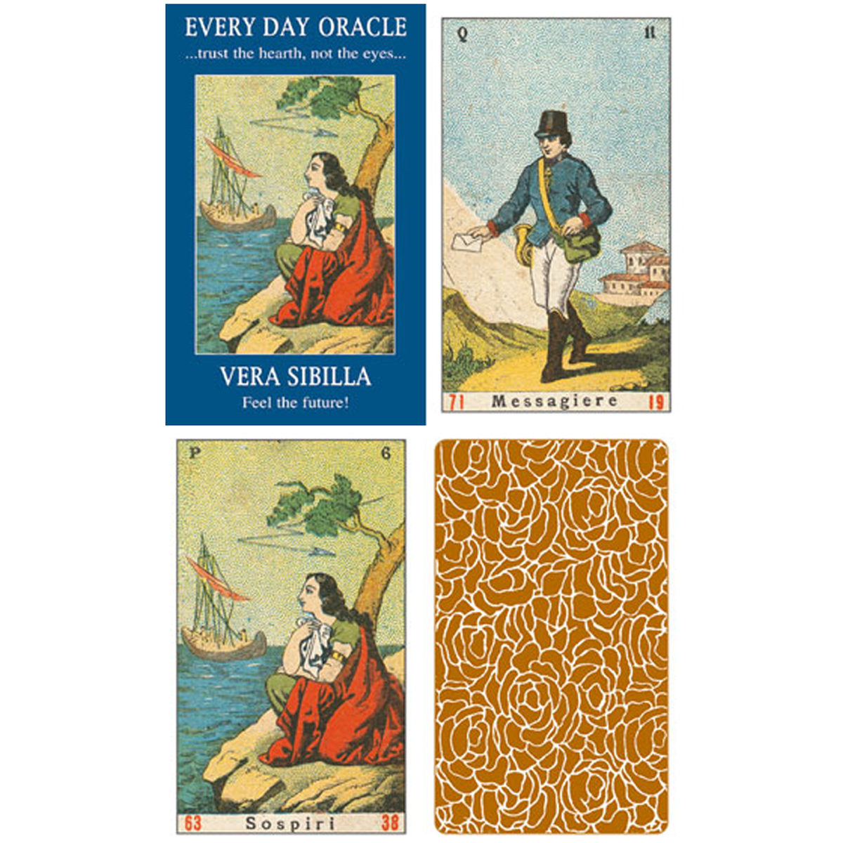 Cartes Oracles \'Every Day Oracle\' - 10x6x2 cm - [A1205]