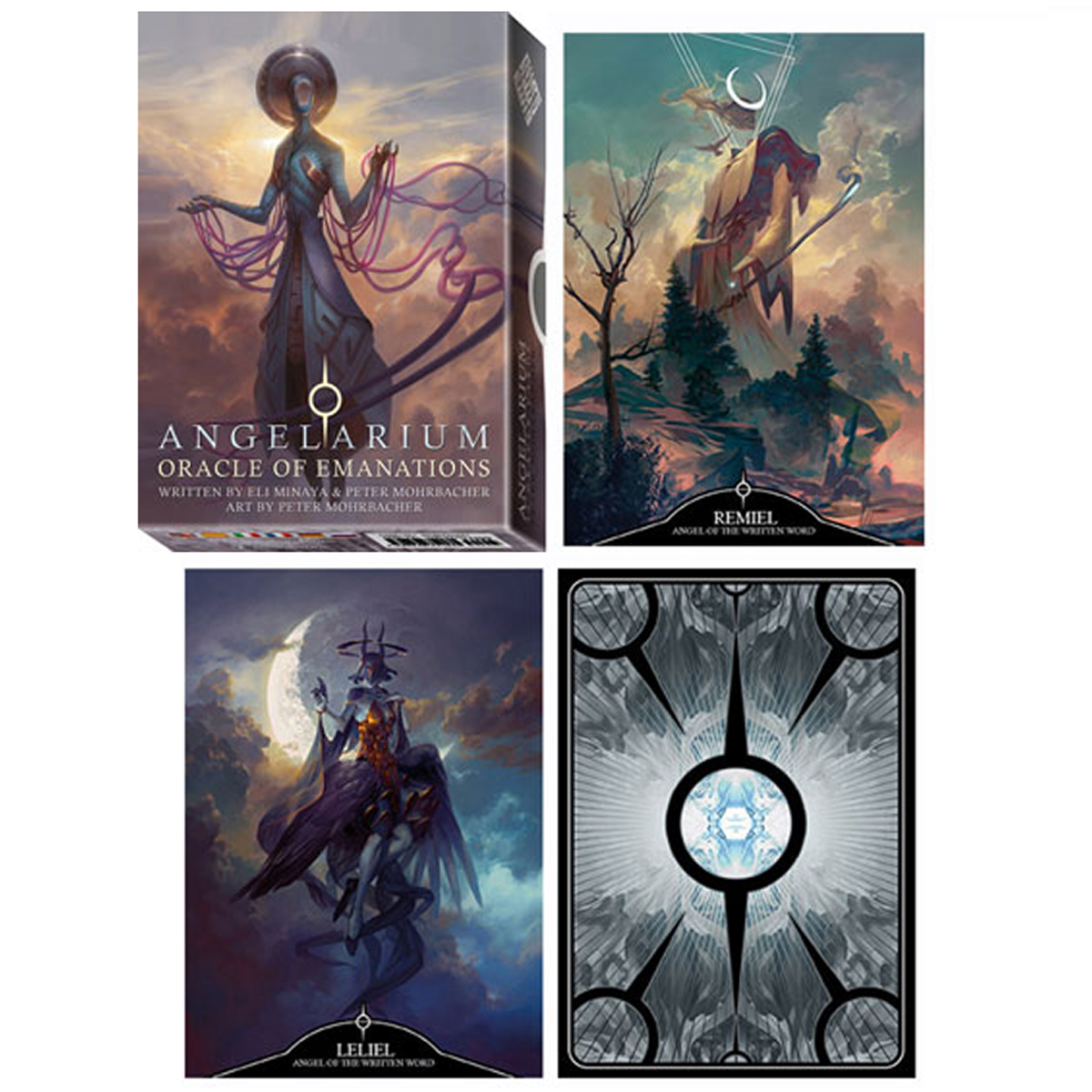 Jeu de cartes d\'inspiration \'Angelarium\' emanations (oracles) - 135x10x3 cm - [A1275]