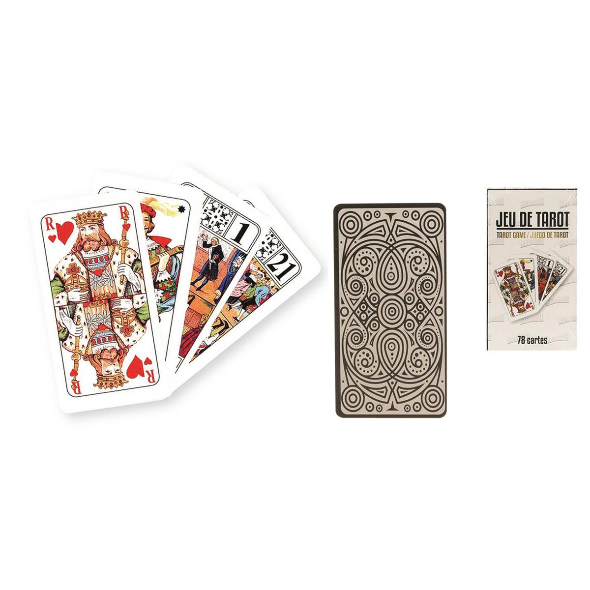 Jeu de cartes \'Tarot\' (78 cartes) - [Q1678]