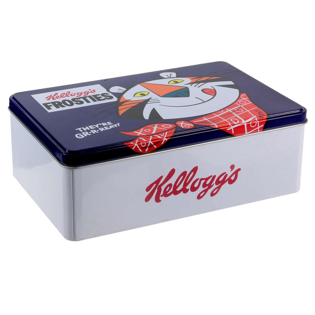 Boite à sucre \'Kellogg\'s\' bleu (frosties) - 195x13x7 cm - [R2434]