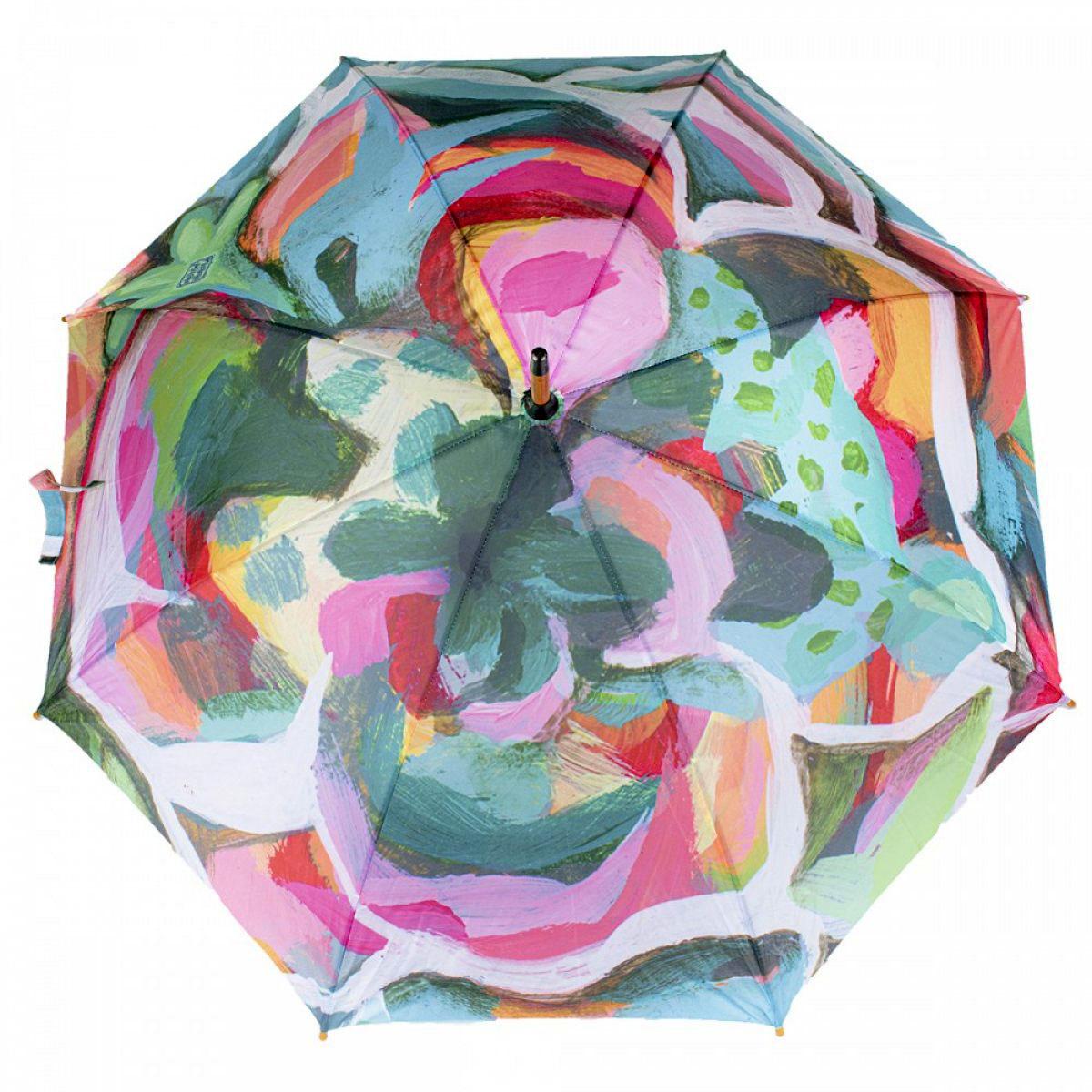 Parapluie canne \'Allen Designs\' multicolore - 90 cm - [A2795]