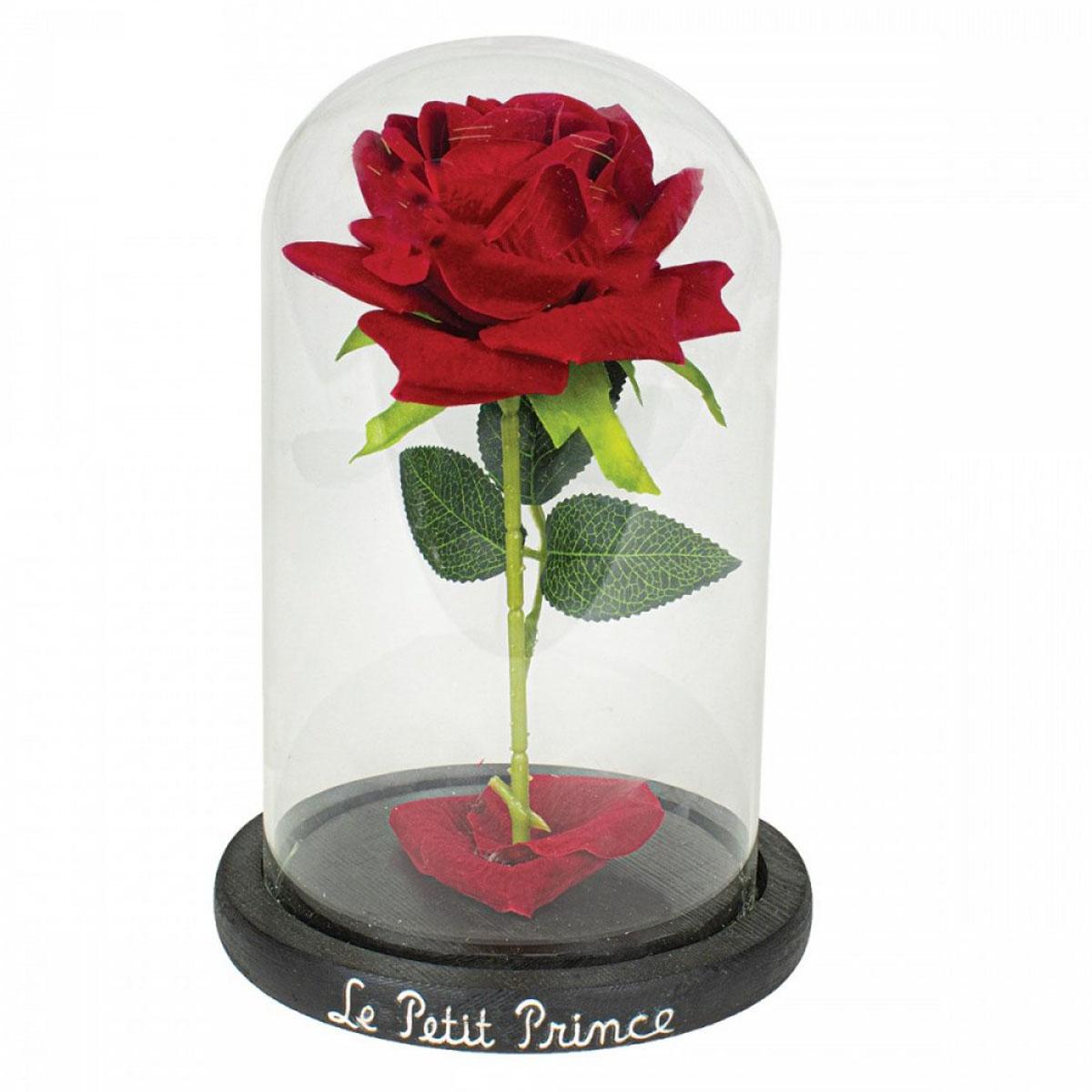 Figurine créateur \'Le Petit Prince\' la Rose - 22x14 cm - [A2803]