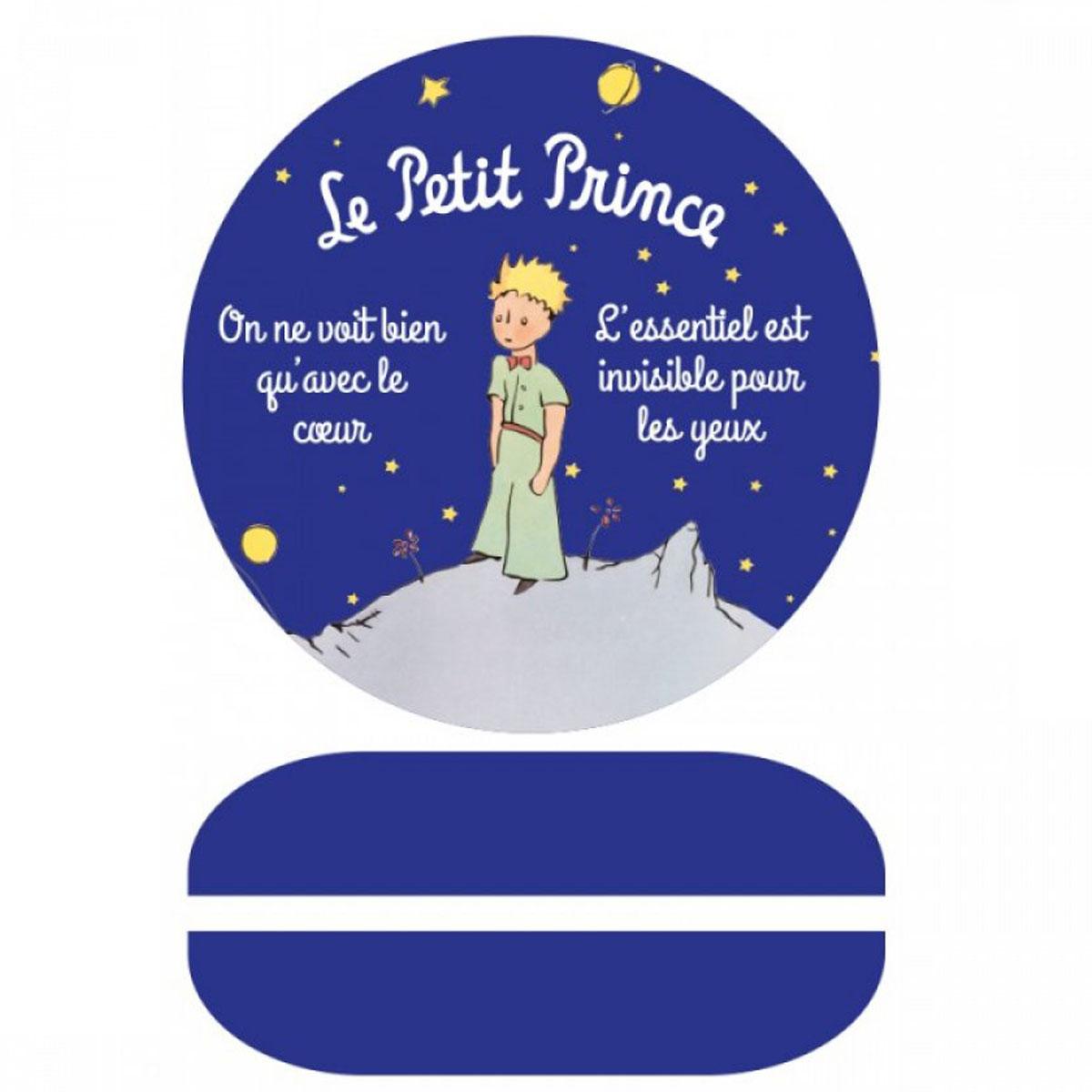 Sonnette à vélo métal \'Le Petit Prince\' bleu - 6 cm - [A2804]