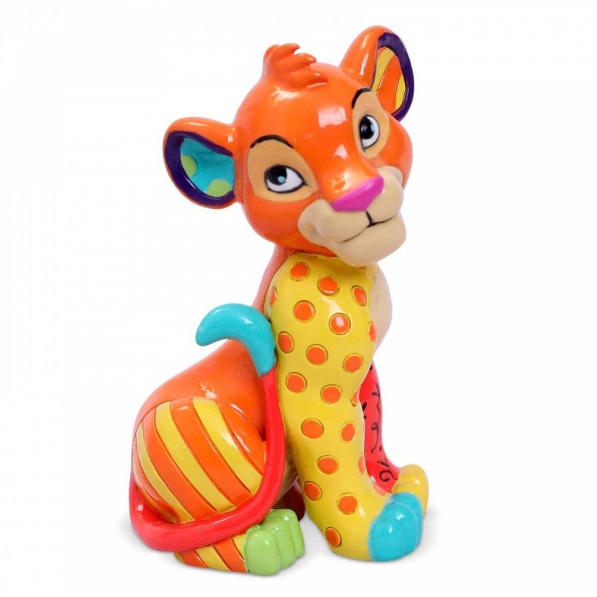Figurine créateur \'Le Roi Lion\' Simba (Britto) - 65x40 mm - [R2034]