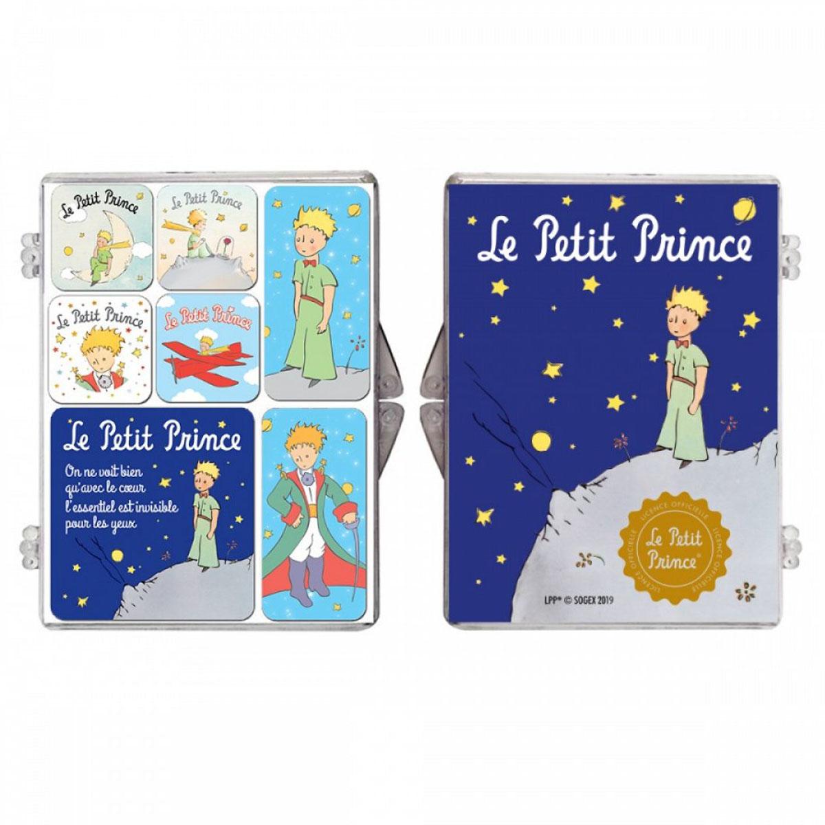 Coffret 7 magnets \'Le Petit Prince\' - coffret 9x65 cm - [Z0148]