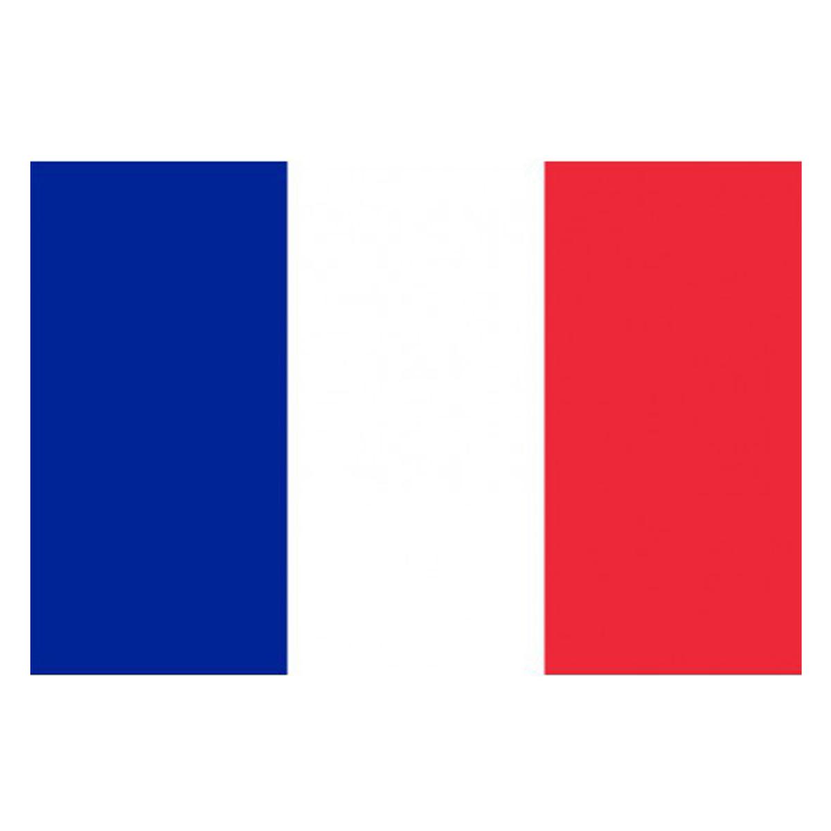 Drapeau \'France\' bleu blanc rouge - 90x150 cm - [J1616]