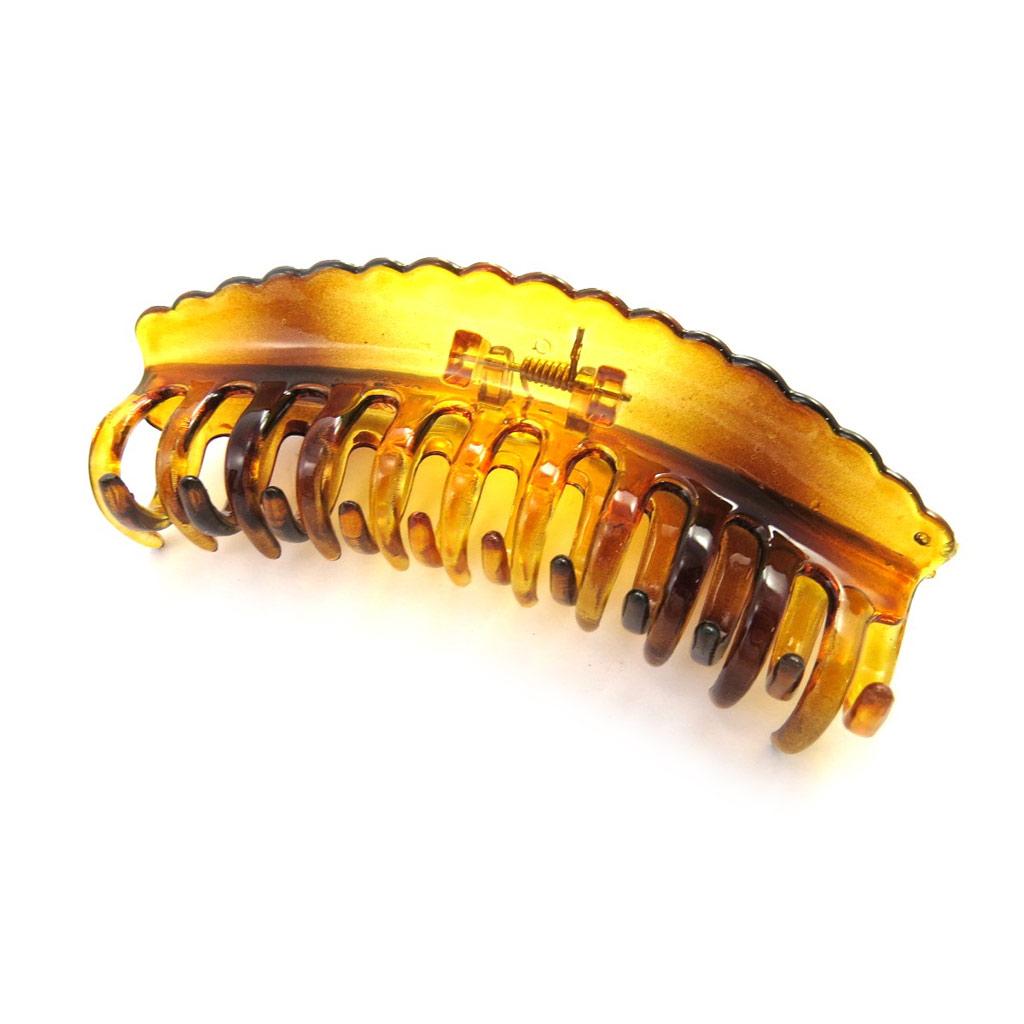 Pince \'Simplicité\' ambre (11x4x3 cm) - [M7559]