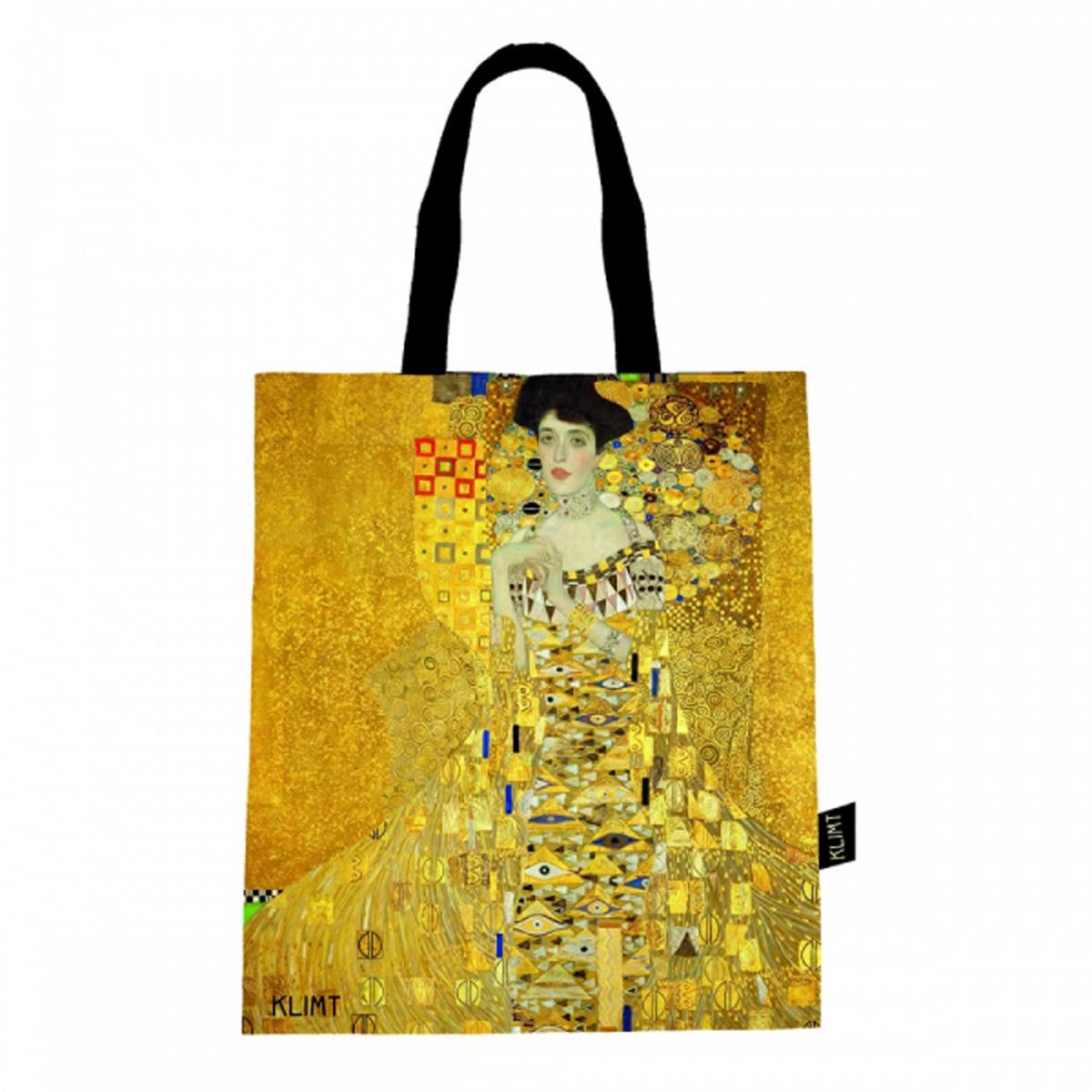 Sac coton / tote bag \'Gustav Klimt\' (Adele) - 44x38 cm - [R2982]