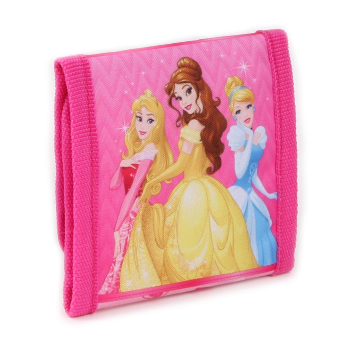 Portefeuille scratch \'Princesses Disney\' Rose - 10x10 cm - [A0112]