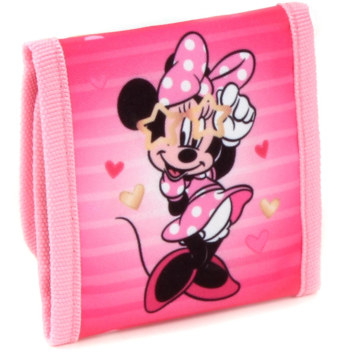 Portefeuille scratch \'Minnie\' rose -  10x10 cm - [A3030]