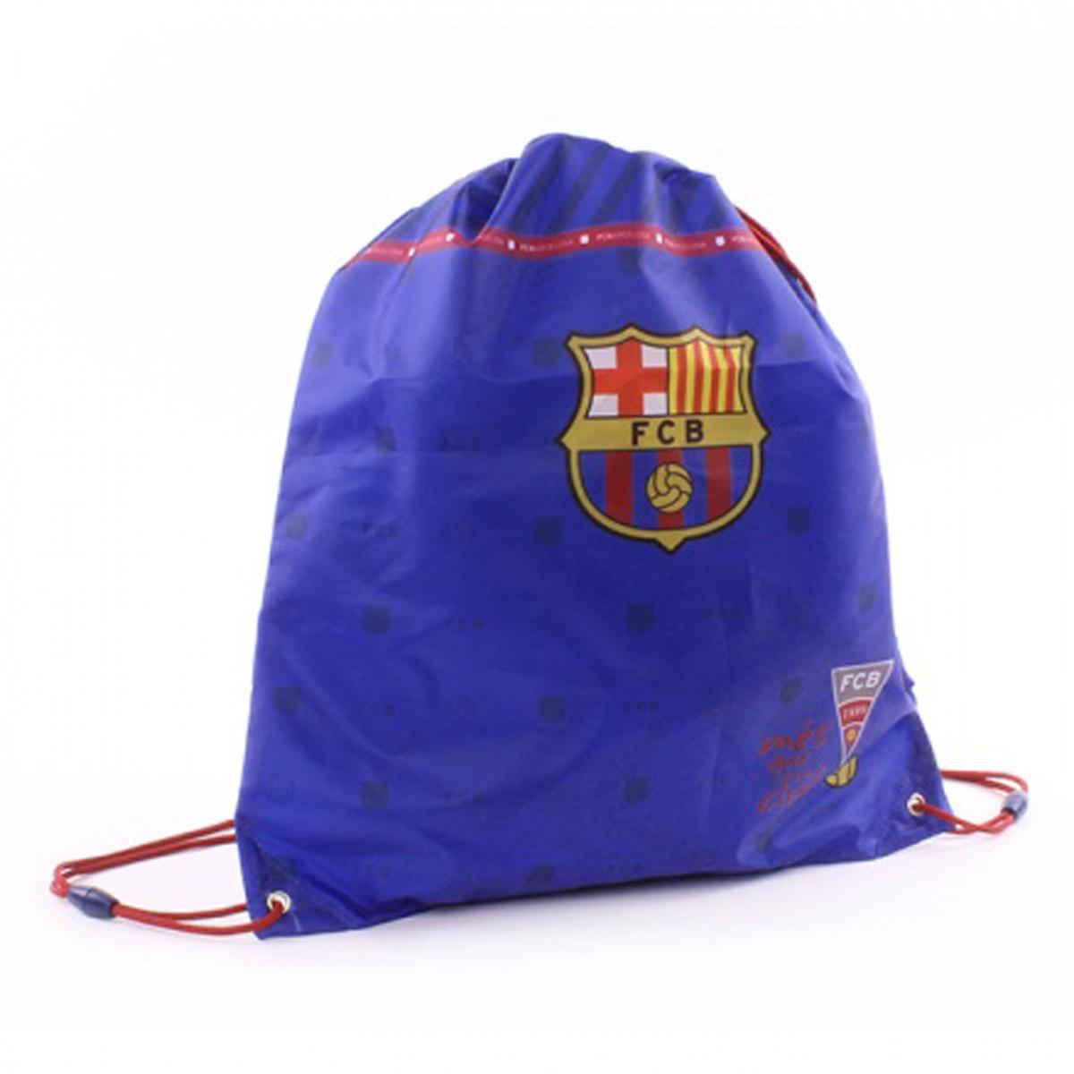 Sac de gym créateur \'FC Barcelona\' bleu - 44x37 cm - [Q3474]