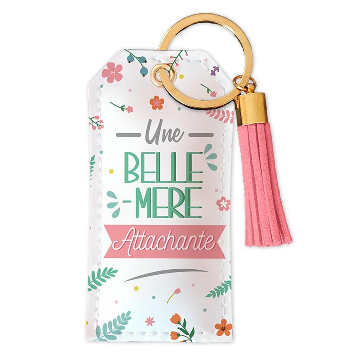 Porte-clés \'Belle-Mère\' Une Belle-Mère attachante - 90x45 mm - [R5458]