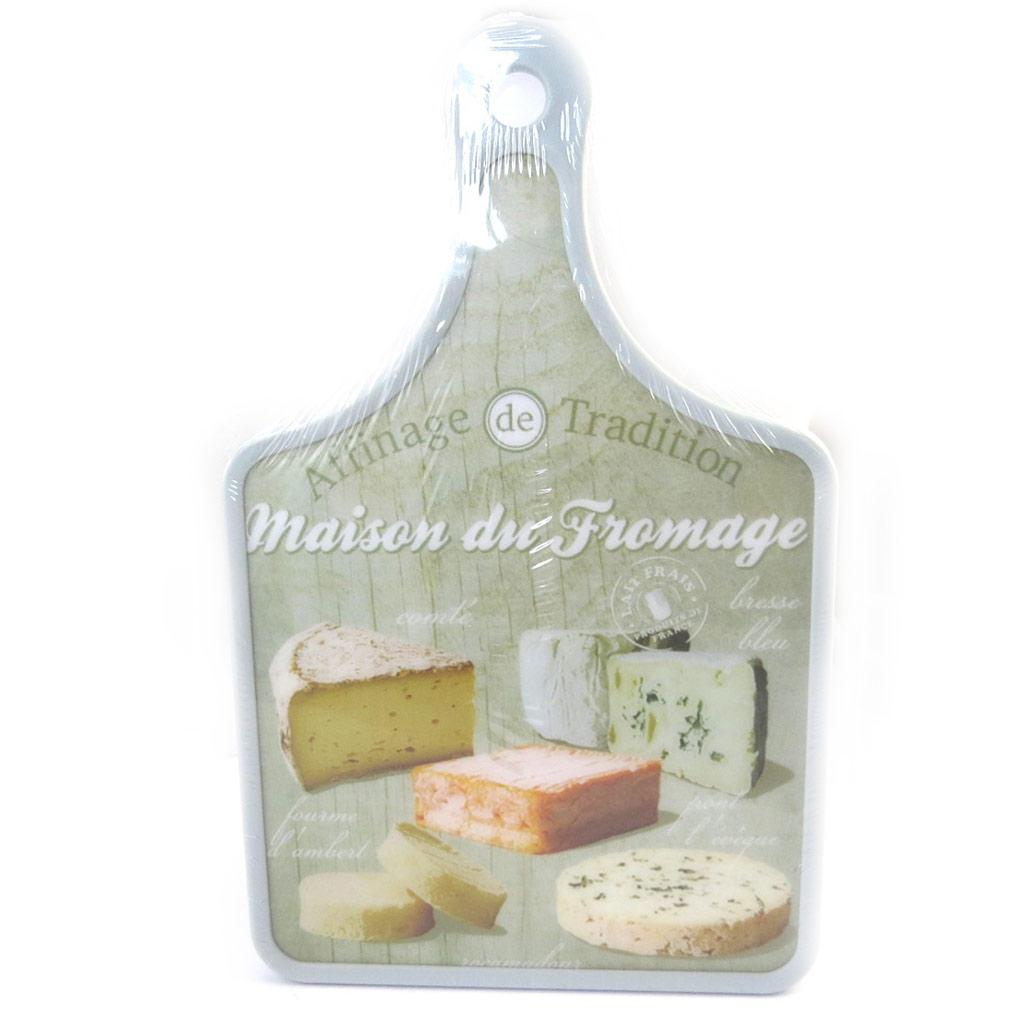 Planche à découpe \'Terroir Français\' maison du fromage (30x20 cm) - [M4889]