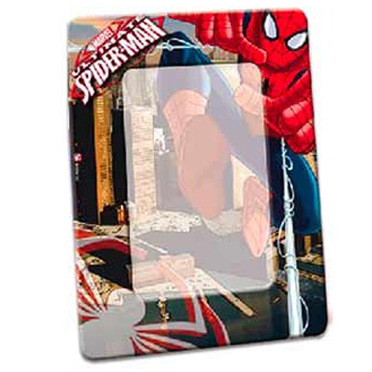 Cadre Photo métal \'Spiderman\' - 19x15 cm, photo 13x9 cm - [R3058]