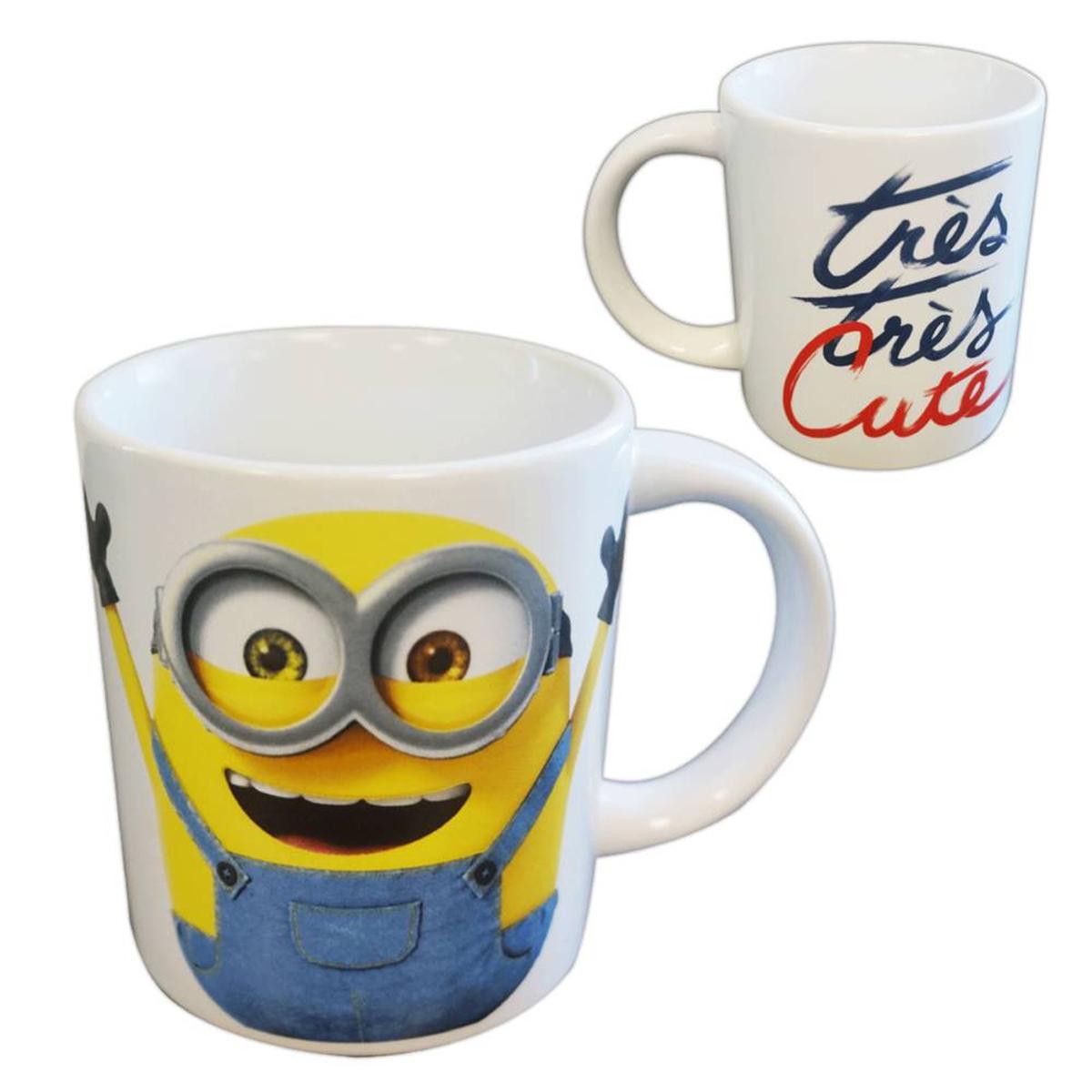 Petit mug céramique \'Minions\' (très très cute) - 85x75 mm - [A3278]