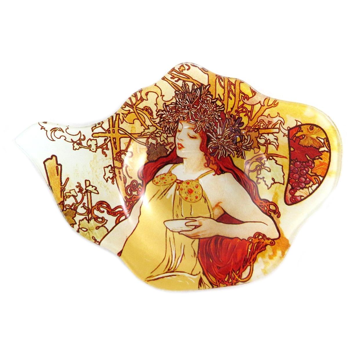 Repose sachets \'Alfons Mucha\' ambre - 14x95 cm - [Q0199]