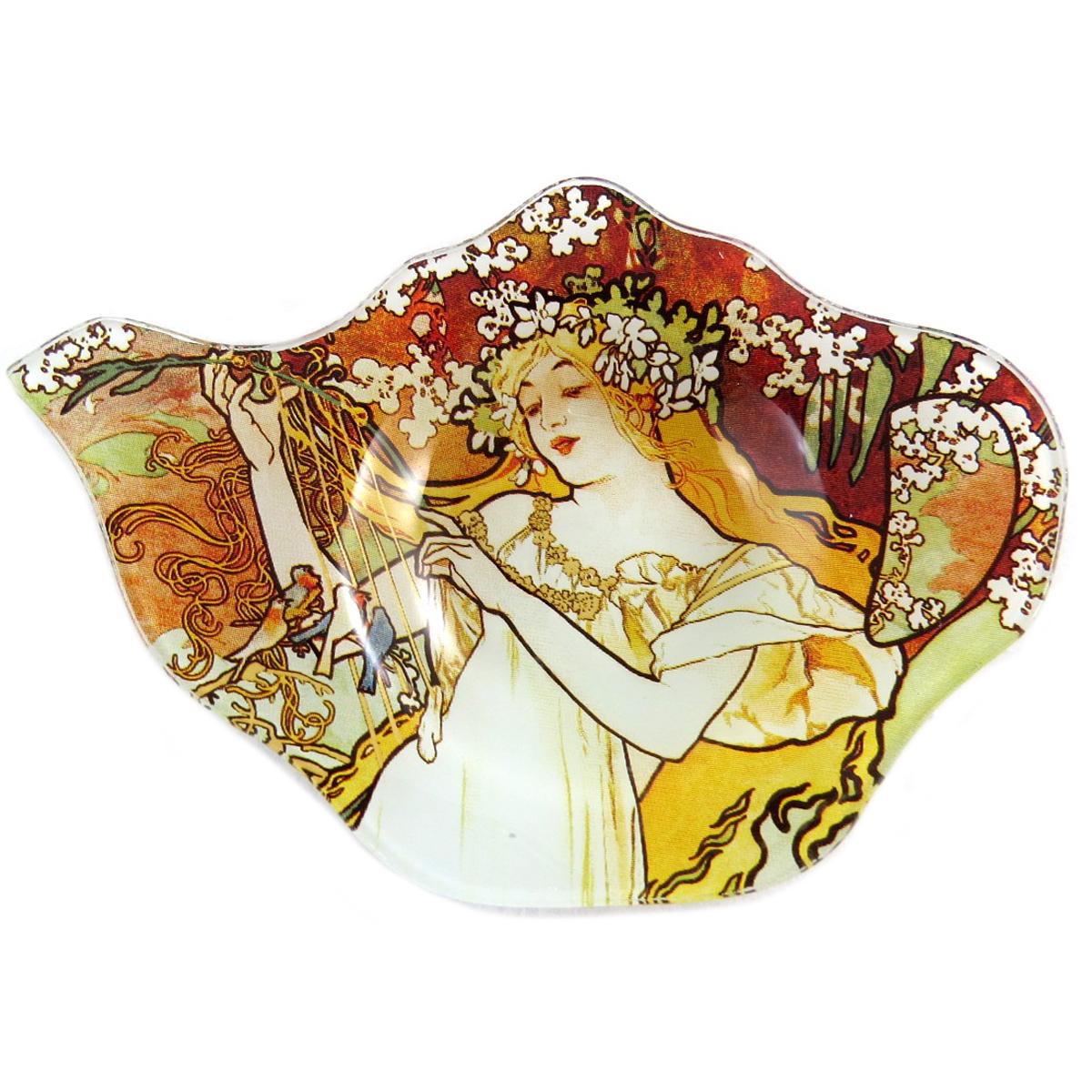 Repose sachets \'Alfons Mucha\' ambre - 14x95 cm - [Q0200]