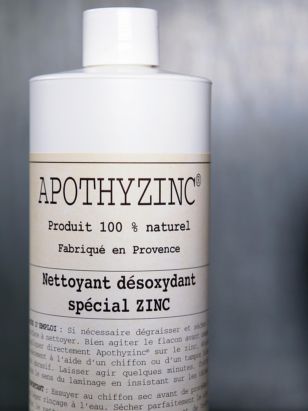 APOTHYZINC NETTOYANT DEOXYDANT NATUREL   SPÉCIAL ZINC