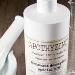 apothyzinc nettoyant zinc naturel taches oxydation