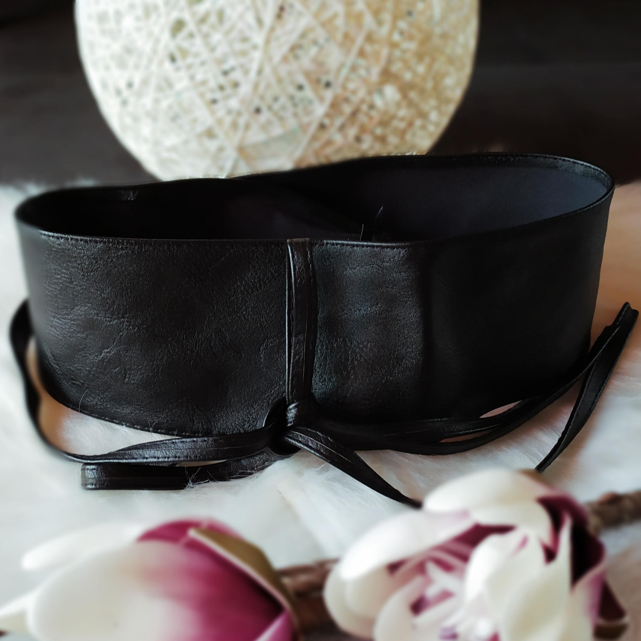 ceinture noire tendance femme
