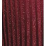jupe plissée irisée rouge femme tendance