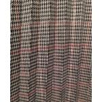 jupe plissée à carreaux brun femme