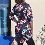 BAYA tunique à fleur tendance femme