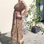 EDEN robe fluide imprimé mode femme