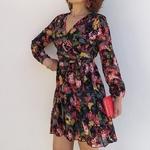 VICTORIA robe à fleurs tendance femme