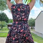 KAMILA robe à fleurs tendance femme