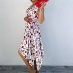 KAMILA robe blanche mode femme