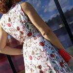 KAMILA robe fluide femme tendance