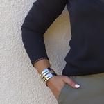 JENNA top noir dentelle femme tendance