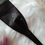 ceinture large simili cuir femme