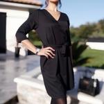 EMMA robe noir tendance femme
