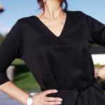 EMMA robe avec ceinture femme