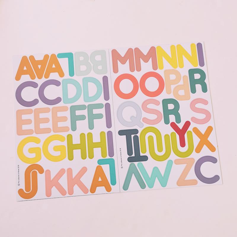 Aimants enfants alphabet lettres majuscules la Fabrikamots