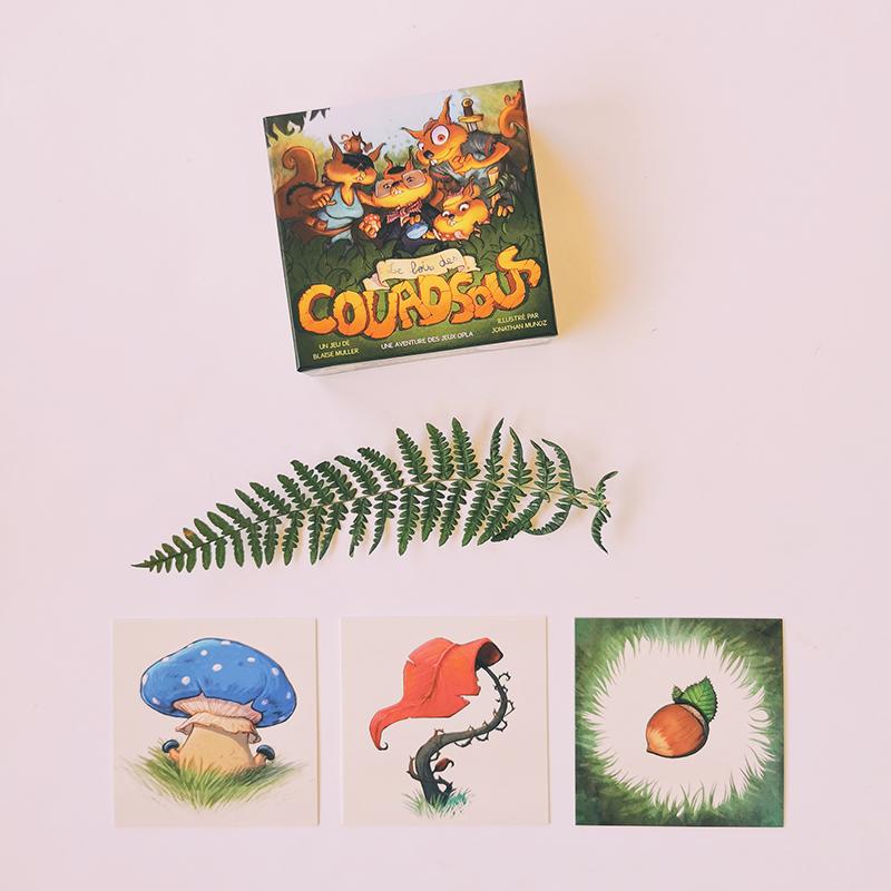 Le bois des Couadsous - jeu de société rigolo - 6 ans et +