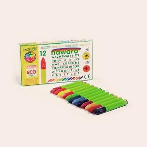 12 crayons de cire