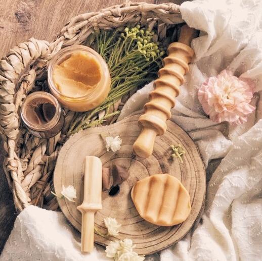 Rouleau texturé pour pâte à modeler