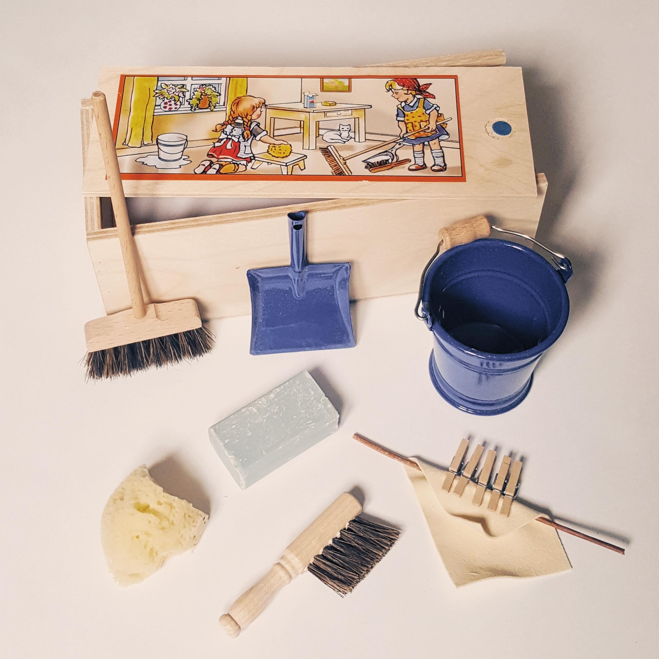 Coffret de mini accessoires de ménage